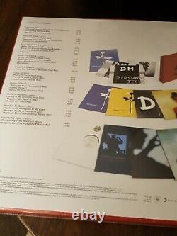Depeche Mode Violator 12 Singles Sealed 10 Vinyl Box Set Avec Enjoy The Silence
