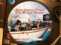 Die Toten Hosen Unter Falscher Flagge Rare 12 Picture Disc Maxi Single Lp Nm