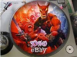 Dio Temps De Brûler Mega Rare 12 Picture Disc Promo Single Lp