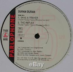 Duran Duran Prière Mondiale Sauvez Une Ordinaire Réflexe 12 Rare Lp Best Hits