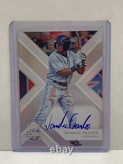 Édition Supplémentaire Panini Elite 2018 #67 Wander Franco Auto Tampa Bay Rays