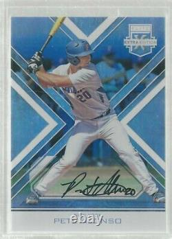 Elite Extra Edition 2016 Pete Peter Alonso Auto On Card Autograph Rc #64 Rare