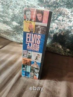 Elvis Presley #1 Hit Singles Collection Colored Vinyl 45 RPM Records Seeled Box