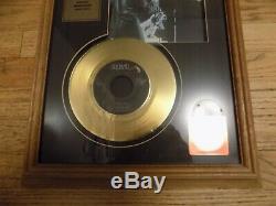 Elvis Presley 24 Kt. Dossier Special Edition D'or Plaque Encadré Hound Dog