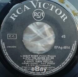 Elvis Presley Tickle Me Rare 7 Unique Un Grec Unique Ep 1965 Ost 5 Titres