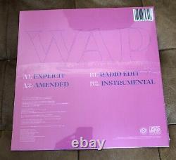 En Main Cardi B Wap Vinyl Limited Edition Purple Sealed Official 12 Single