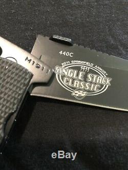 Équipement Ultime M1911 Couteau Springfield 1911 Stack Simple Special Edition