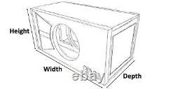 Étape 2 Édition Spéciale Ported Subwoofer Box Skar Audio Evl-8 Evl8 8 Sub