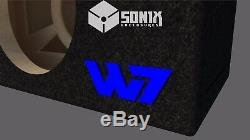 Étape 3 Special Edition Ported Subwoofer Box Jl Audio 10w7ae Sub Bleu