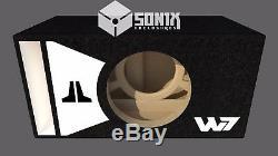 Étape 3 Special Edition Ported Subwoofer Box Jl Audio 8w7ae Sub Blanc