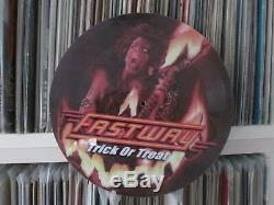 Fastway Trick Or Treat Mega Rare 12 Picture Disc Promo Single Lp