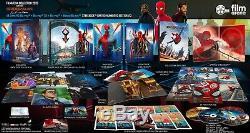 Filmarena Spider-man Far From Home Fac E3 Unique Lenti Steelbook 4k / 2d / 3d Nouveau