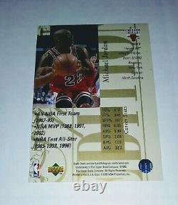 Gem Mint 1995 Upper Deck Michael Jordan Gold Special Edition Ssp # Se100