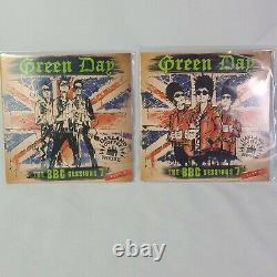 Green Day Bbc Sessions 45rpm 1 Et 2 Vinyle Coloré 7 Blanc Et Violet