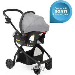 Gris Urbini Omni Plus 3 En 1 Voyage Special Edition Poussette Car Seat