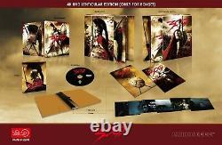 Hdzeta 300 Steelbook Single Lenticulaire Fullslip 4k Blu-ray Steelbook Nouveau Scellé