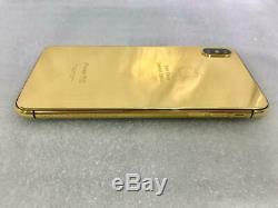 Iphone Xs Max 512 Go - Édition Spéciale En Or 24 Kt, Single Space Gray