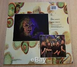 Iron Maiden Virus 12 Seule Affiche Manches 1996, Emp 443, Comme Neuf, Near Mint