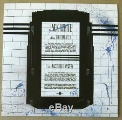 Jack White Freedom A 21 Couverture Alternative Édition Spéciale Man Records