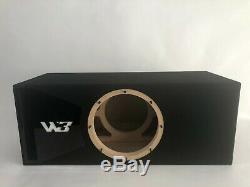 Jl Audio 10w3v3-2 Boîte Sous Portage, Édition Spéciale Avec Garniture De Port Plexi Noir