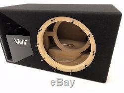 Jl Audio 10w6v3 Caisson De Subwoofer, Édition Spéciale Avec Garniture De Port Plexi Noir