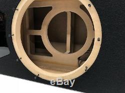 Jl Audio 12w6v3 Boîtier De Caisson De Graves À Portage Special Edition Avec Garniture De Port Plexi Noire