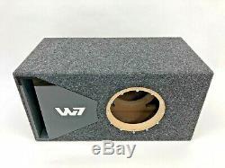 Jl Audio 8w7 Boîtier De Caisson De Graves À Portage Ae Special Edition Avec Garniture De Port Plexi Noire