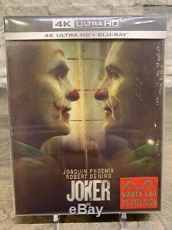 Joker Steelbook Manta Lab Unique Lenticulaires 4k Et Blu-ray # 965/1000 Épuisé