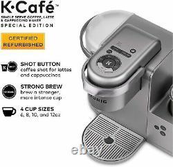 Keurig K Café Special Edition Coffee Maker Latte Simple Serve Cup K-cafe