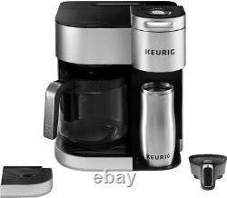 Keurig K Duo Édition Spéciale Single Serve K-cup Pod Coffee Maker Argent
