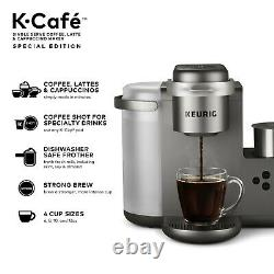 Keurig K-cafe Édition Spéciale Unin Serve K-cup Pod Café Latte Et Cappuccino
