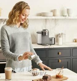 Keurig K-cafe Édition Spéciale Unique Servir, Latte & Cappuccino Nickel