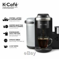 Keurig K-cafe Special Edition Simple Serve K-cup Pod Café, Latte Et Cappuccin