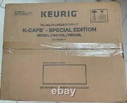 Keurig K-cafe Special Edition Simple Serve Pod K-cup Coffee Nickel Maker