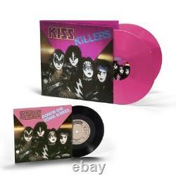 Kiss Killers 2021 Bundle- Sold Out (prévente) Pink 2lp Vinyl+ Livret + Single 7