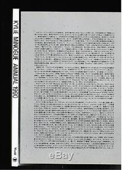 Kylie Minogue Le Numéro Officiel 1990 Du Japon Avec 3 CD + 8p. Livret Alzb-2