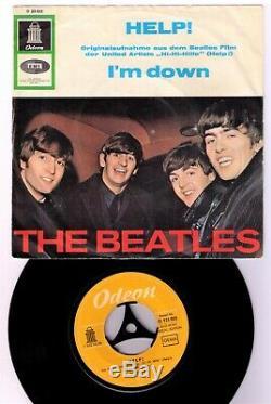 L'aide Beatles Ex-libris Schweiz O 923023 Édition Spéciale Gelb Diff. Labeldr