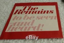 Le Reste Rouge Vinyle Orig. 1ère Presse! Picture Promo Sleeve Rare! Ex + / Vg + (slv)
