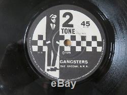 Le Spécial A. K. A. Gangsters Contre Le Sélecteur 2 Tons Main Estampé 1er Pressing 7