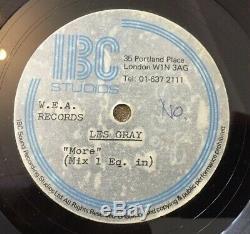 Les Gris / Boue. Plus. Ultra Rare Wea Acétate. Unreleased Chanson Appelé Plus