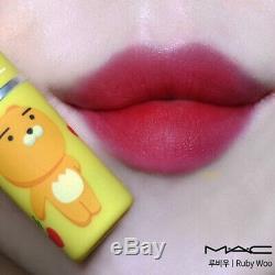 Mac X Kakao Friends Special Edition 5shade Ryan Apeach Muzi Neo Frodon Corée Seulement
