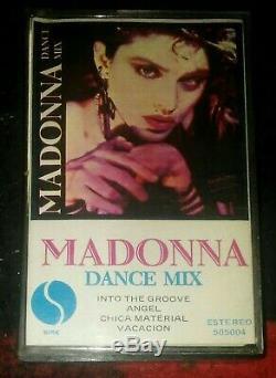 Madonna Dance MIX Uruguay Cassette Ultrarare