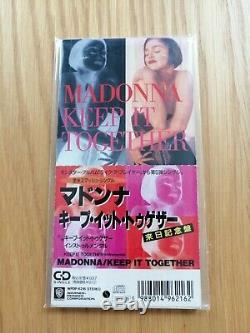 Madonna Gardez Ensemble Le Japon CD Single 1989 Like A Prayer Longbox No Promo X