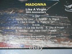 Madonna Like A Virgin 30th Anniversary Photo Disc Mdna Fan Club Canada