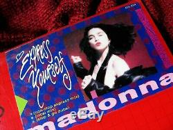 Madonna Sealed Philippines 12 Vinyle Exprimez-vous Special Edition Promo Hype