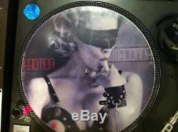 Madonna-erotica (sex Book) Rare 12 Picture Disc Promo Lp Le Meilleur Greatest Hits