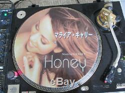 Mariah Carey Honey Mega Rare 12 Photo Single Disc Promo Lp Japan