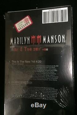 Marilyn Manson-ceci Est Le Nouveau Hit-cd Mini Longbox 3 Pouces 8cm 21x9,5-scellé Neuf
