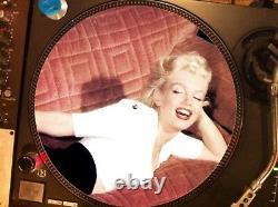 Marilyn Monroe Diamonds Sont Le Meilleur Ami D'une Fille Rare 12 Picture Disc Promo Lp