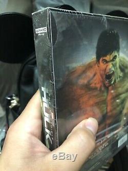 Marvel L'incroyable Hulk Blufans Single Steelbook 4k Uhd Assuré